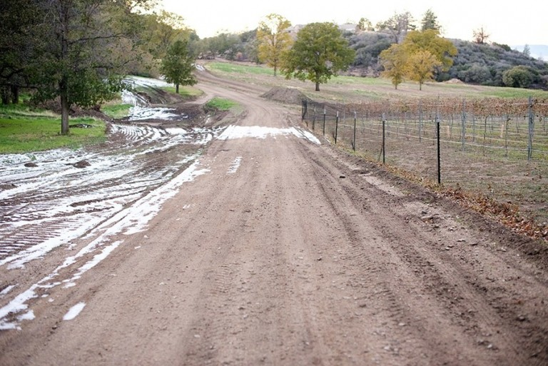 Dirt Road - Sawmill Mountain Vineyards